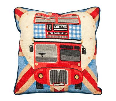 "Набор для вышивания Anchor: наволочка ""Red Bus On Union Jack"""