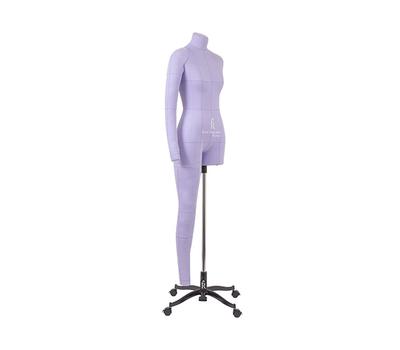 Манекен женский мягкий портновский Monica Art, размер 40, сиреневый