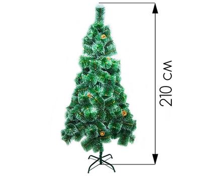 Новогодняя ёлка 210 см (фабричная)