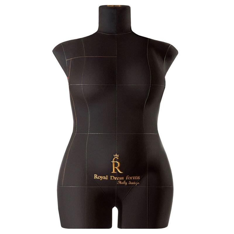 Манекен женский мягкий портновский Monica, размер 54, чёрный