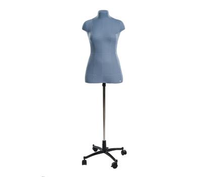 Женский мягкий портновский манекен 44 размера с разметкой и подставкой в комплекте