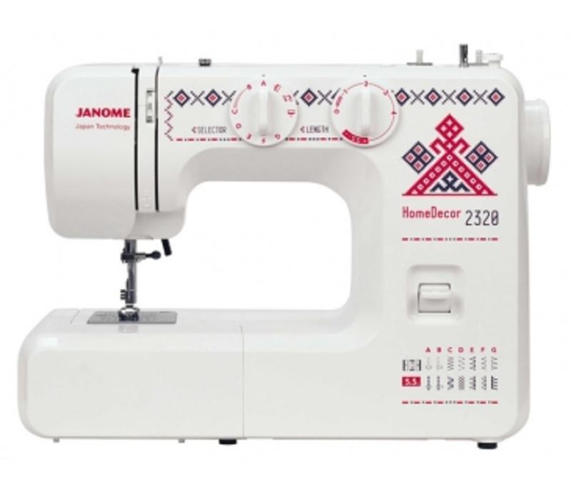 Электромеханическая швейная машина Janome HomeDecor 2320