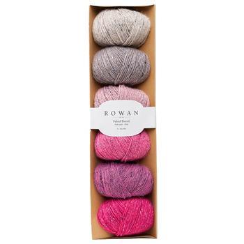 "Набор пряжи Rowan - Felted Tweed ""Розовый"""