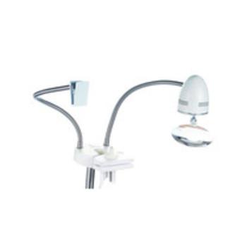 Универс.комплект к нап. стенду E24047 в картонной упаковке СК/Распродажа лампа с лупой и держатель схем / увеличение Х1.75, Х