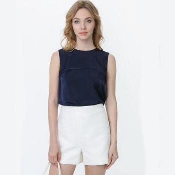 Выкройка блузка-топ без рукавов на молнии