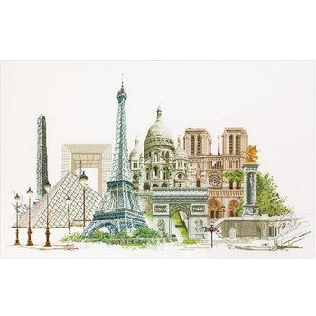 """Набор для вышивания """"Thea Gouverneur"""" 472А """"Париж"""""""