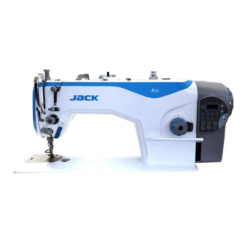 Промышленная одноигольная прямострочная швейная машина JACK JK-A2S-4CHZJ-M (комплект)