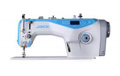 Одноигольная прямострочная промышленная швейная машина Jack JK-A4H (комплект)