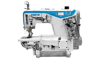 Промышленная швейная машина Jack K5-UT-35AC (5,6 мм) (комплект)
