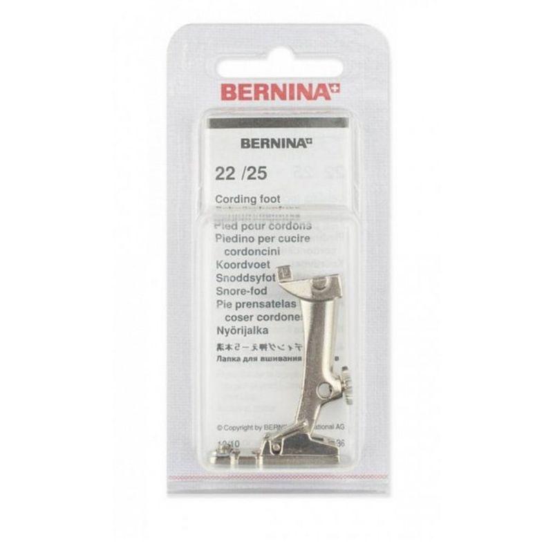 Лапка для шв. маш. №22 для шнура (3 желобка)