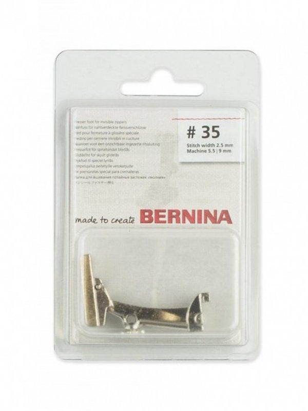 Лапка №35 для потайной молнии Bernina
