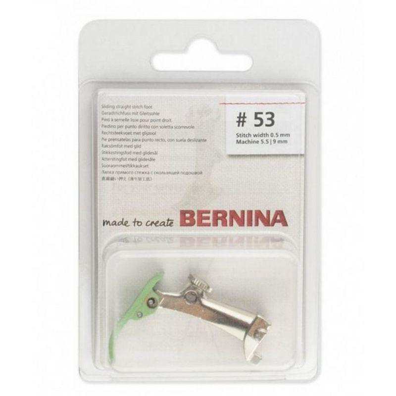 Лапка №53 прямострочная тефлоновая Bernina