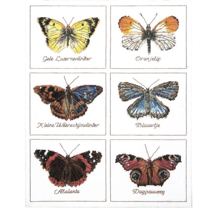 "Набор для вышивания ""Thea Gouverneur"", ""Бабочки"""