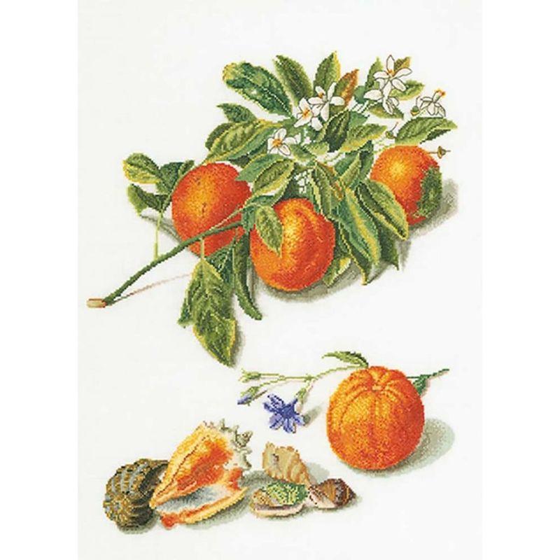 """Набор для вышивания """"Thea Gouverneur"""", """"Апельсины и мандарины"""""""