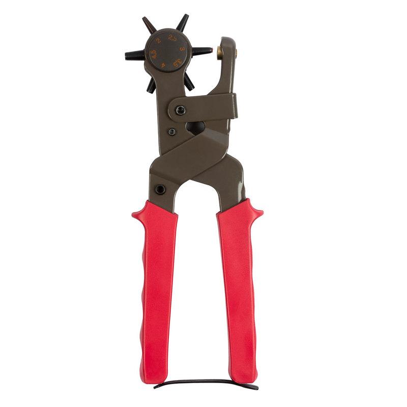 Ручные универсальные щипцы - пробойник HPU-2, 6 насадок