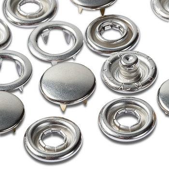 """Пополняемая упаковка для кнопок """"Джерси"""" к артикулу 390120, диаметр 10мм, латунь, Prym, 390104"""
