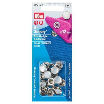 """Пополняемая упаковка для кнопок """"Джерси"""" к артикулу 390117, диаметр 12мм, Prym, 390122"""