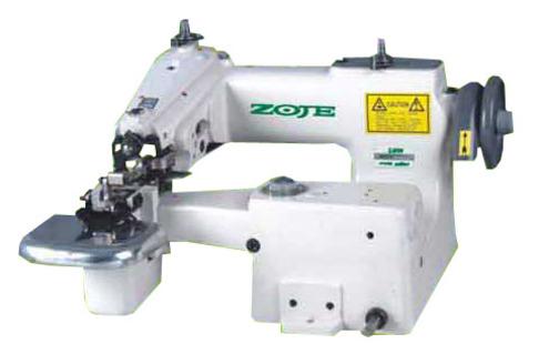 Одноигольная машина потайного стежка с боковыми ножами для изготовления шлевки ZOJE ZJ860