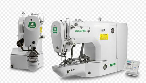 Электронная автоматическая пуговичная швейная машина ZOJE ZJ1900DSS (DHS) Высокоскоростная