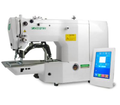 Электронная автоматическая пуговичная швейная машина ZOJE ZJ1900D-0604SS Высокоскоростная